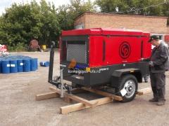 Chicago Pneumatic CPS350 на заводе в г. Салават