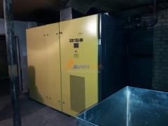 Компрессор на 132 кВт для пескоструйных работ
