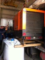 Отгрузка дизельного компрессора Ремеза в Уфе