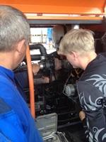 Гарантийный ремонт дизельного компрессора