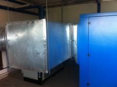 Монтаж систем вентиляции и отвода тепла