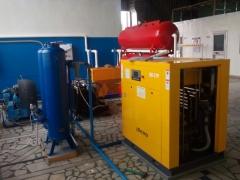Монтаж оборудования для розлива воды Кургазак